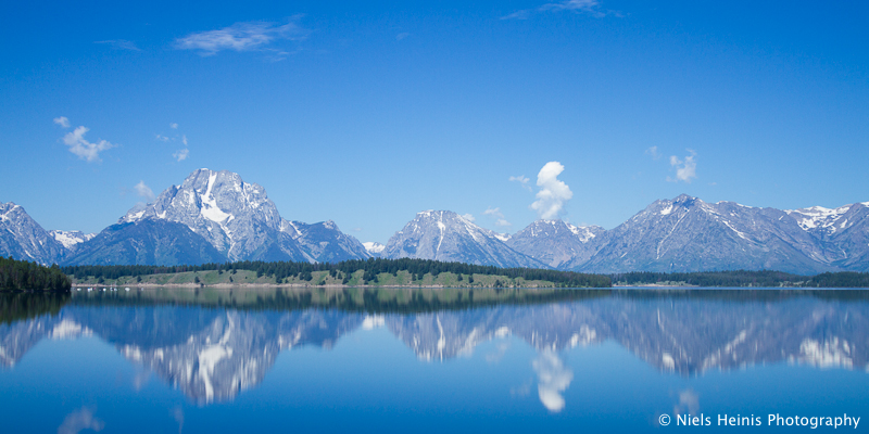 Blue Tetons - Grand Teton NP, Wyoming, USA