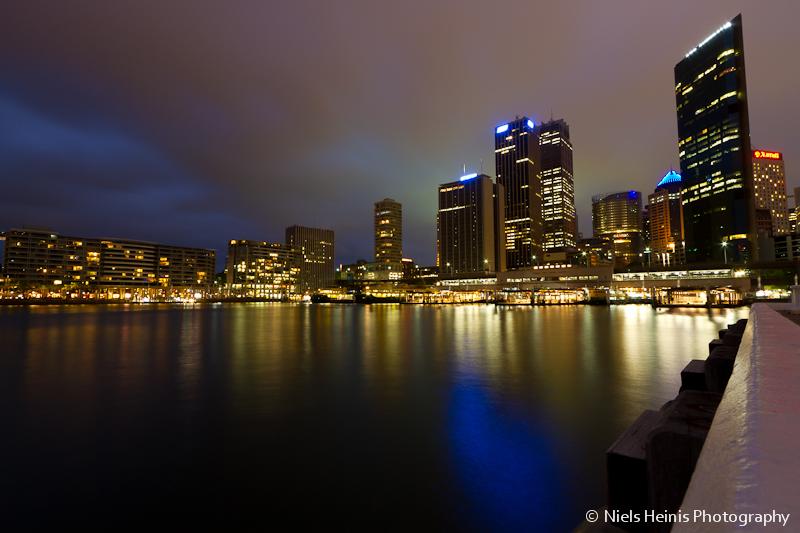 Circular Quay by night - Sydney, Australia