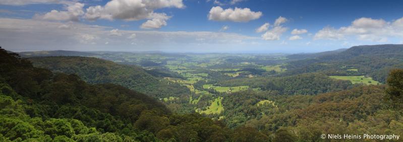 Jamberoo Lookout - Minnamurra Rainforest, NSW, Australia