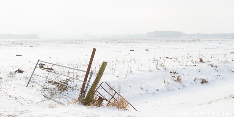 Misty winter afternoon, Groningen, NL