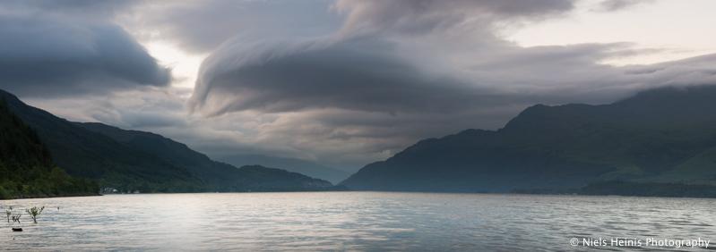 Loch Lomond just after sunset - Luss, Scotland