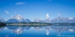 Blue Tetons - Grand Teton NP, Wyoming, USA