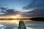 Sunrise at Lauwersmeer