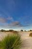 Blue sky over Dutch desert