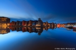 Blue hour at Reitdiep Haven - Groningen, NL