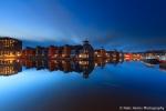 Blue hour at Reitdiep Haven - Groningen, NL