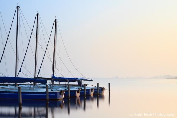 First sun rays - Leekstermeer, Netherlands