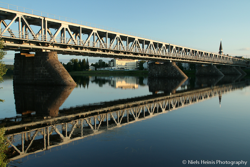 Rail bridge in Rovaniemi