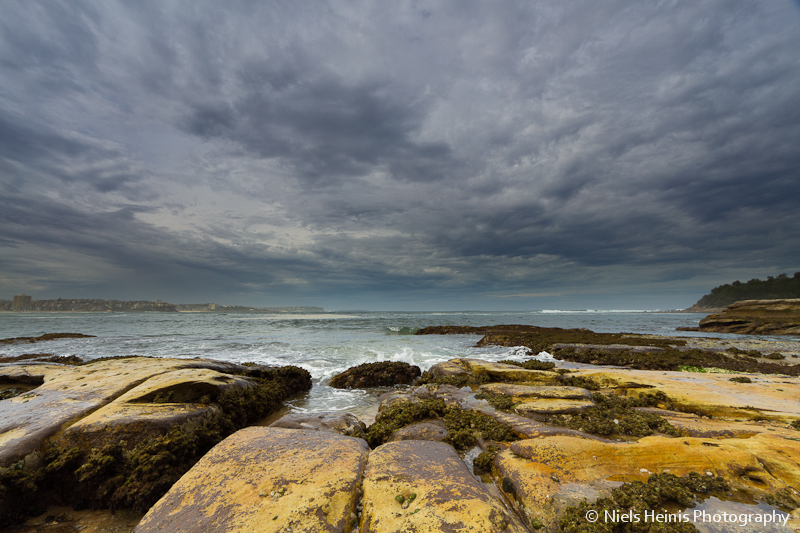Clouds over Manly Beach - Sydney, Australia