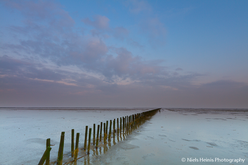 Waddensea near Emmapolder -