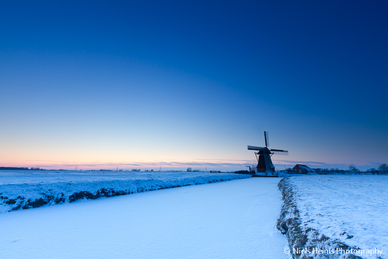 Freezing sunset @ De Jonge Held