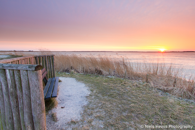 Ice cold view - Ezumakeeg, National Park Lauwersmeer, Frisia, NL