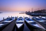 Blue sunrise - Leekstermeer, Netherlands