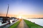 Golden sunrise - Zoutkamp, NL